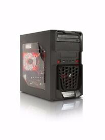 Gaming Desktop PC Complete With HD Monitor/Keyboard/Mouse