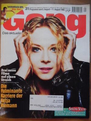 GONG 31 - 1995 (2) TV; 5.- 11.8. Katja Riemann Derrick Horst Tappert online kaufen