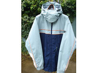 Billabong Snowboarding Jacket, Size Large, detachable Hood and Built in storm Protector around waist
