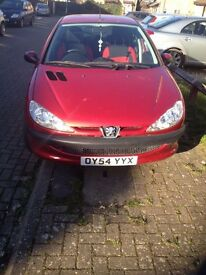 Peugeot 206 (RED) Hatchback 5 Doors