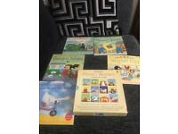 Usborne Phonics readers set and 5 experiences books