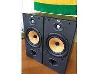 B&W 602 S3 speakers