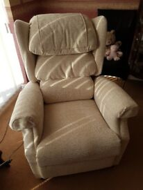 Cosy rise and lift chair