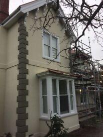 Experienced in plastering, floor screening, rendering and cornice work.