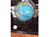 Globe lamp vintage