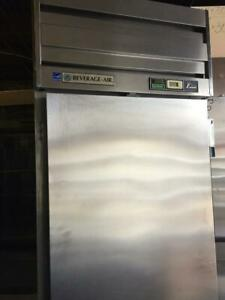 Used Beverage Air ER24-1AS Single Reach-In Refrigerator Cooler