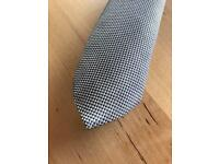 2 Zara skinny ties (1 silk & 1 Wool/Cotton)