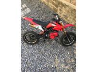 Mini moto 50cc will take swap