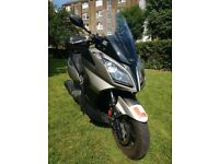 Kymco Downtown 125i ABS,2016,2000 miles only! VGC! Extra accessories!