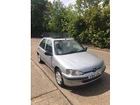 1999 Peugeot 106 1.1 Xn Zest 2, 5 door. 67k from new,