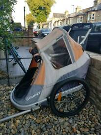 Double bike trailer (Giant Peapod)