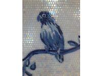 Exclusive mosaic tiles / element ready for decor (29.5 x 41 cm)