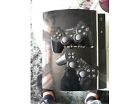 Used Playstation 3 with Wireless Controllers