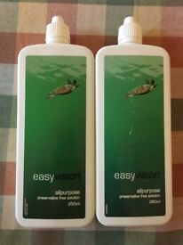 2 x SpecSavers Easy Vision Contact Lens Solution. Unopened sealed 250ml bottles