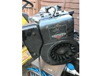 Briggs and Stratton 8hp engine, ride on mower motor