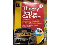 AA Theory test for car driver book