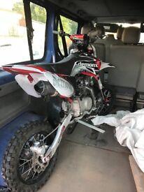 Pit bike 140cc demon x