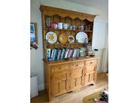 Large dresser, old pine