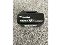 Makita 3ah battery 18v