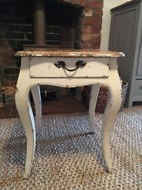 Draw bedside table
