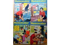 Bulk lot of Homemaker magazines 1959-1964