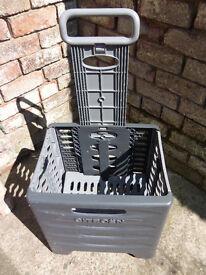 car - Citroen xsara picasso boot folding shopping trolley