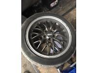 "VW Golf,bora,Passat 5x100 fitment 17"" bss replica Alloy wheels"
