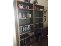 Large Green Bookcase in Good condition