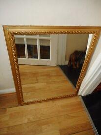 gold framed mirror ornate
