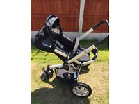 Quinny buzz pram and carry cot