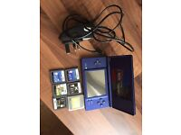 Blue dsi and games