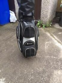 Motto caddy leather golf bag