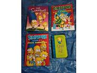 The Simpsons annuals and book