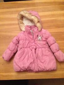 Toddler girls coat