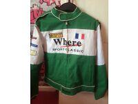Kids racing jacket for motorbike racing or quad racing etc