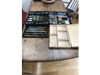 Shakespeare Tackle box and complete sundry tackle