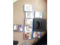 PlayStation 4 slim 500gb **8games**