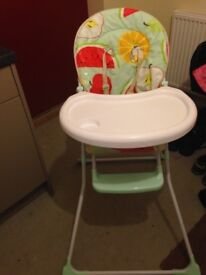 High chair for sale from Cupar