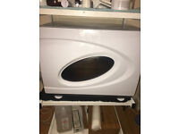 White Hot Towel Cabinet