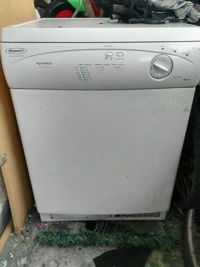 hotpoint condense dryer good working order