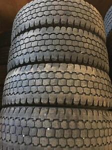 Set of LT245/75R16 tires