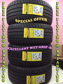 """SPECIAL OFFER"" 245/35ZR19 93W XL OPALS 4 TYRE'S INCLUDING FITTING BALANCING ONLY £160"