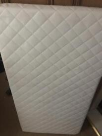 Cot mattress for sale Mothercare