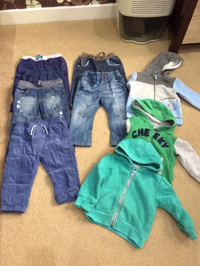Boys clothes 9-12 m