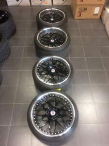 "20"" HRE for Porsche + Michelin Pilot Super Sport Tires"