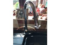 Chrome faucet kitchen tap