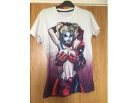 Harley and deadpool t-shirt