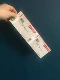 2 Jason manford tickets Thursday 3rd May