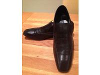 French Connection Black Men's 'Sain' Smart Slip-on Shoes (UK10/EU44) JUST REDUCED