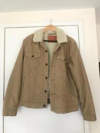 Levi's corduroy Sherpa jacket - size: M